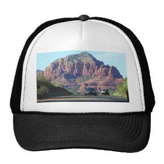 Sedona Mountains Car Road Trucker Hat