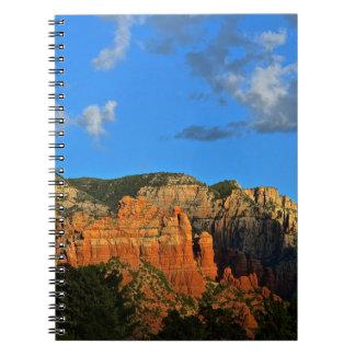 Sedona Mountains Spiral Note Book