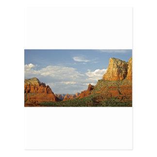 Sedona Mountains Postcard