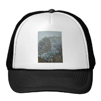 Sedona Mountains snow storm Trucker Hat