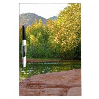 Sedona Oak Creak Dry Erase Board