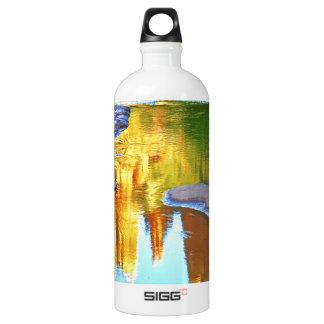 Sedona Oak Creak reflections of Cathedral Rock Aluminum Water Bottle