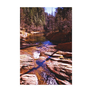 Sedona Oak Creak trail Canvas Print