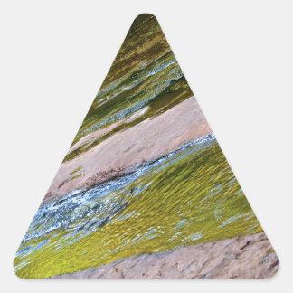 Sedona Oak Creak Triangle Sticker