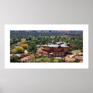 Sedona Observatory Panorama Print
