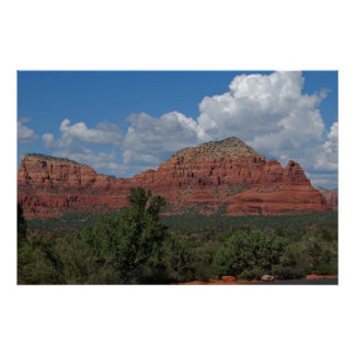 Sedona Red Rock Mountain 082 Poster