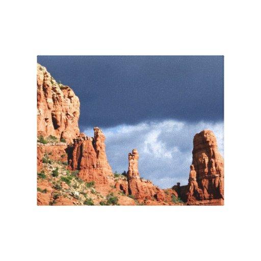 Sedona Red Rock Mountains Canvas Print