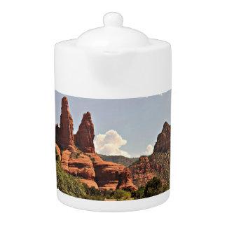 Sedona Red Rock Tea Pot