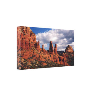 Sedona Red Rocks Wrapped Canvas Gallery Wrap Canvas