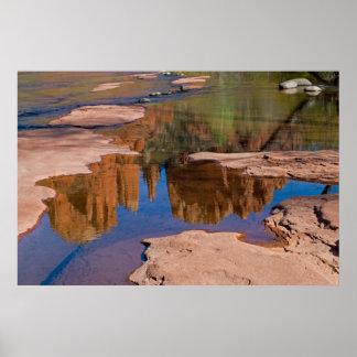 Sedona, reflexiones 4021 de Arizona Impresiones