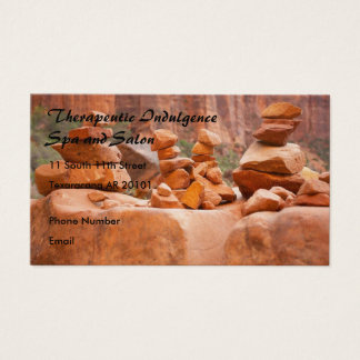 Sedona Rocks in Balance Business Card