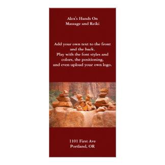 Sedona Rocks in Balance Custom Rack Card