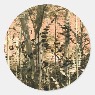 Sedona Sculpture Garden Round Sticker