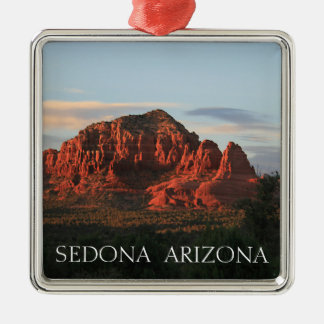 Sedona Sunset Metal Ornament