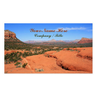 Sedona Valley Double-Sided Standard Business Cards (Pack Of 100)
