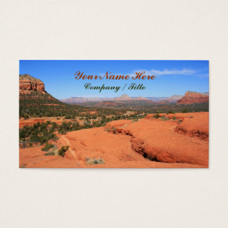 Sedona Valley Business Card
