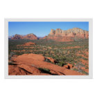 Sedona Valley Poster