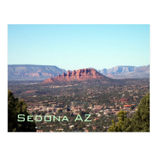 Sedona-View#3, Sedona AZ Postcard