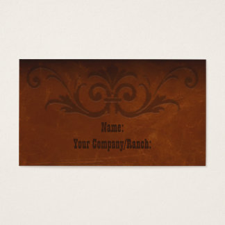 Sedona Western Business Card