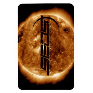 SEDS-ASU Solar Flare Flex Magnet