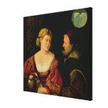 Seduction  c.1515 canvas print