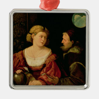 Seduction  c.1515 metal ornament