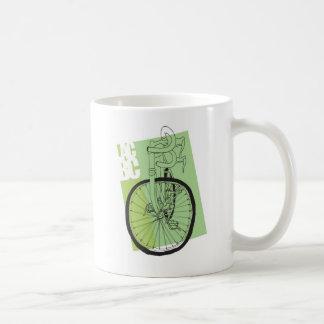 Seduction Via Road Bike Classic White Coffee Mug