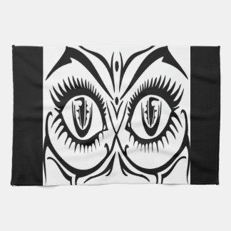 Seductive female eyes towel