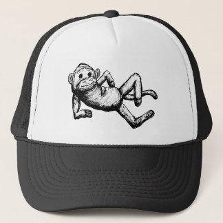 seductive sockmonkey trucker hat