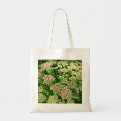 Sedum Autumn Joy Tote Bag