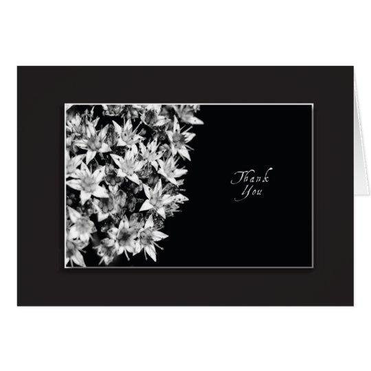 Sedum Flower Thankyou Card