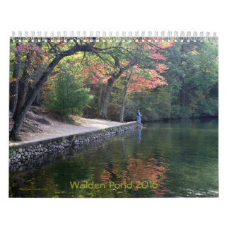 **see 2017 Walden Pond or chg front cover year Calendar