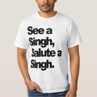 See A Singh T-Shirt (Original) by Humble The P