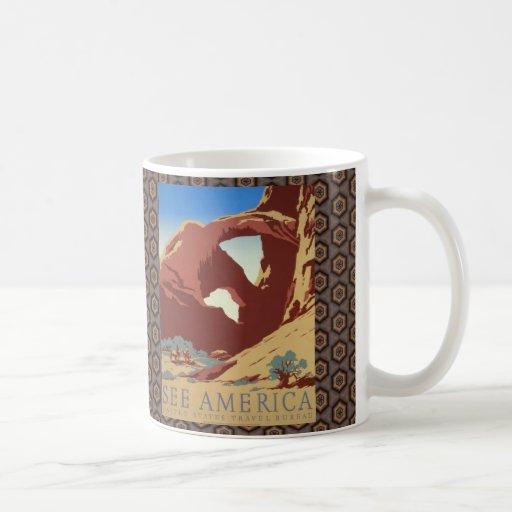 See America II Classic White Coffee Mug