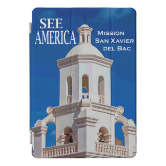 """See America"" Mission San Xavier iPad Cover"