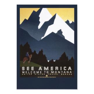 See America-Montana Card