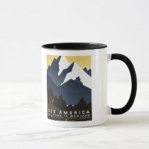 See America-Montana Mug