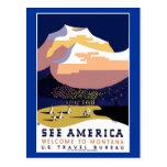 See America Montana Postcards