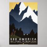 See America: Montana Print