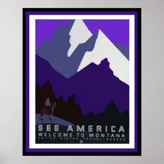 See America - Montana - WPA Poster Series45