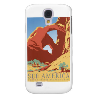 See America Poster Samsung Galaxy S4 Cover