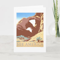 See America Travel 1939 WPA Card