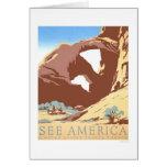 See America Travel 1939 WPA Card
