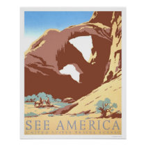 See America Travel 1939 WPA Poster