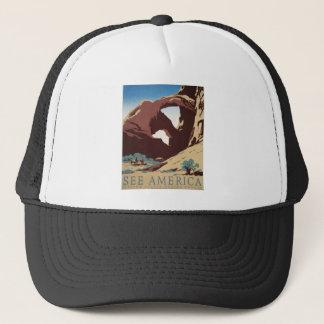 See America Trucker Hat