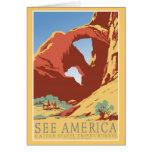 See America Vintage Greeting Card