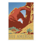 """See America"" Vintage WPA Travel Poster"