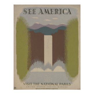 See America: Visit the National Parks Print