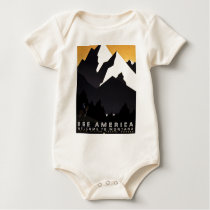 See America Welcome to Montana Baby Bodysuit