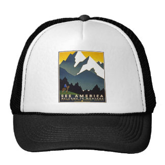 See America - Welcome to Montana Trucker Hat